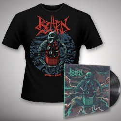 Rotten Sound - Suffer To Abuse - LP + T-Shirt bundle (Men)