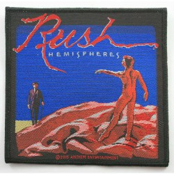 Rush - Hemispheres - Patch
