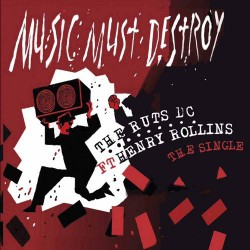 Ruts DC - Music Must Destroy - CD EP