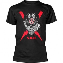 S.O.D. - Scrawled Lightning - T-shirt (Men)