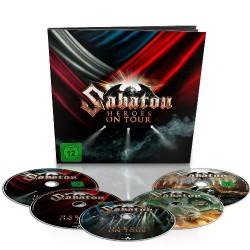 Sabaton - Heroes On Tour - 2 DVD + 2 Blu-ray + CD earbook
