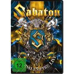 Sabaton - Swedish Empire Live - DOUBLE DVD