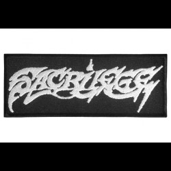 Sacrilege - Logo - EMBROIDERED PATCH