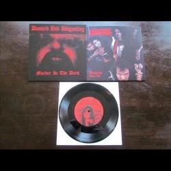 "Sadistik Exekution - Doomed And Disgusting - Murder In The Dark / Suspiral Demo 1991 - 7"" vinyl"