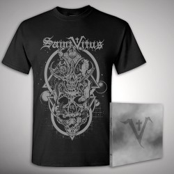 Saint Vitus - Bundle 3 - CD DIGIPAK + T-shirt bundle (Men)