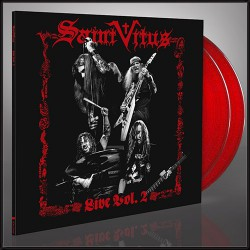 Saint Vitus - Live Vol. 2 - DOUBLE LP GATEFOLD COLOURED + Digital