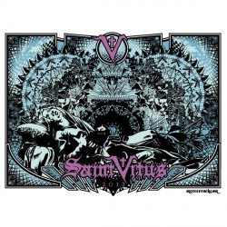 Saint Vitus - Saint Vitus 2012 - Screen print