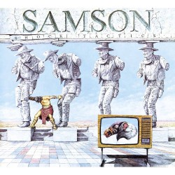 Samson - Shock Tactics - LP Gatefold