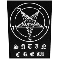 Satan Crew - Logo - BACKPATCH