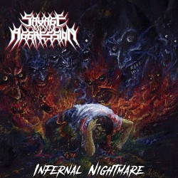 Savage Aggression - Infernal Nightmare - LP COLOURED
