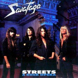 Savatage - Streets - A Rock Opera - CD DIGIPAK