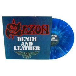 Saxon - Denim And Leather - LP COLOURED