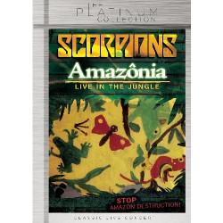 Scorpions - Amazonia - Live In The Jungle - DVD
