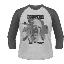 Scorpions - Black Out - BASEBALL LONGSLEEVE