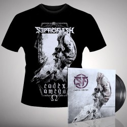 Septicflesh - Codex Omega - Double LP gatefold + T-shirt bundle (Men)