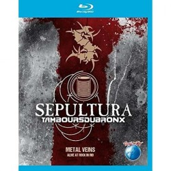 Sepultura & Les Tambours Du Bronx - Metal Veins - Alive At Rock In Rio - 2 BLU-RAY DISCS
