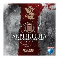 Sepultura & Les Tambours Du Bronx - Metal Veins - Alive At Rock In Rio - CD
