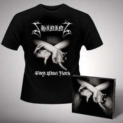 Shining - X - Varg Utan Flock - CD DIGIPAK + T-shirt bundle (Men)