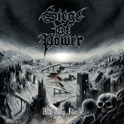 Siege Of Power - Warning Blast - CD