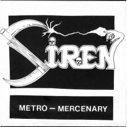 "Siren - Metro - Mercenary - 7"" vinyl"