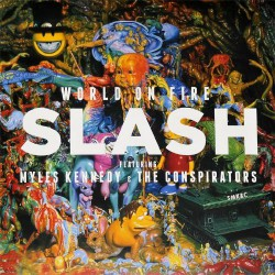 Slash - World On Fire - DOUBLE LP Gatefold