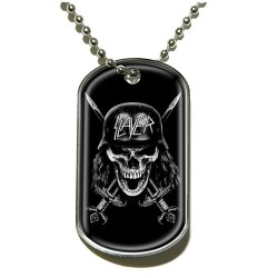 Slayer - Wehrmacht Skull - Dog Tag