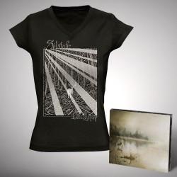 Solstafir - Berdreyminn - CD DIGIPAK + T-shirt V-neck bundle (Women)