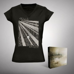 Solstafir - Berdreyminn - Digibox + T-shirt V-neck bundle (Women)