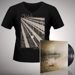 Solstafir - Berdreyminn - Double LP gatefold + T-shirt V-neck bundle (Men)