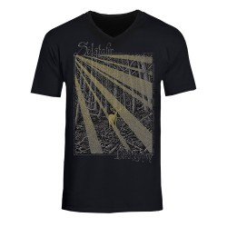 Solstafir - Berdreyminn [Gold Print] - T-shirt V-neck (Men)