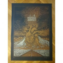 Solstafir - Heart Of A Volcano - Serigraphy