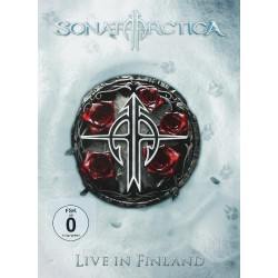 Sonata Arctica - Live In Finland - 2DVD + 2CD DIGIPACK SLIPCASE