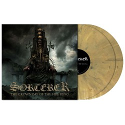 Sorcerer - The Crowning Of The Fire King - DOUBLE LP GATEFOLD COLOURED