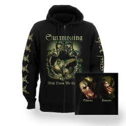 Summoning - With Doom We Come - Hooded Sweat Shirt Zip (Men)