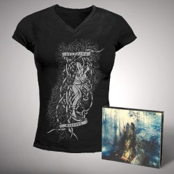 Sylvaine - Wistful - CD DIGIPACK + T Shirt Girlie bundle