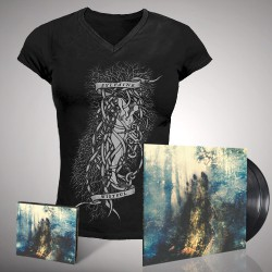 Sylvaine - Wistful - DOUBLE LP GATEFOLD + CD DIGIPAK + T-SHIRT bundle (Women)