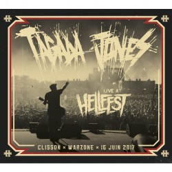 Tagada Jones - Live At Hellfest 2017 - CD DIGIPAK