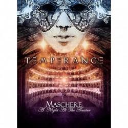 Temperance - Maschere - A Night At The Theater - CD + DVD Digipak