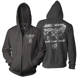 Terror - Hard Lessons - Hooded Sweat Shirt Zip