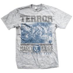 Terror - Hardcore (Ash Grey) - T-shirt (Men)
