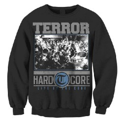 Terror - Hardcore (Black) - Sweat-shirt