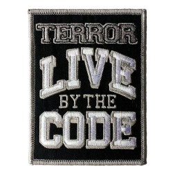 Terror - Live By The Code - Patch