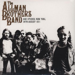 The Allman Brothers Band - A&R Studios: New York, 26th August 1971 - DOUBLE LP Gatefold