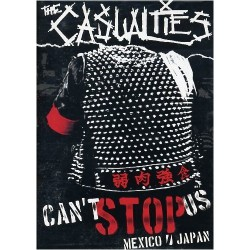 The Casualties - Can't Stop Us Mexico Japan - DVD