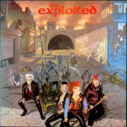 The Exploited - The Troops of Tomorrow - DOUBLE LP