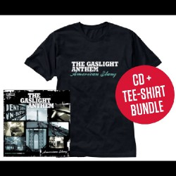 The Gaslight Anthem - American Slang LTD Edition - CD DIGIPAK + T-shirt bundle