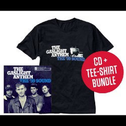 The Gaslight Anthem - The '59 Sound LTD Edition - CD + T Shirt bundle