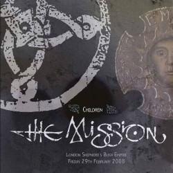 The Mission - Live: Children - DOUBLE LP Gatefold