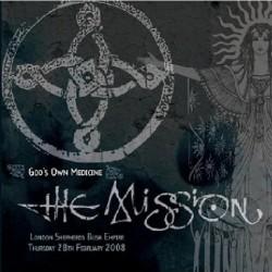 The Mission - Live: God's Own Medecine - DOUBLE LP Gatefold