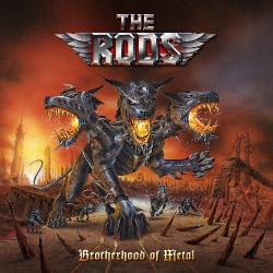 The Rods - Brotherhood Of Metal - DOUBLE LP GATEFOLD COLOURED + CD